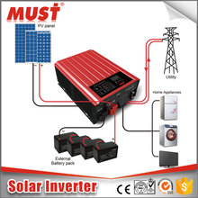 China 3000w 48v pure sine wave power jack grid tie inverter with high frequency