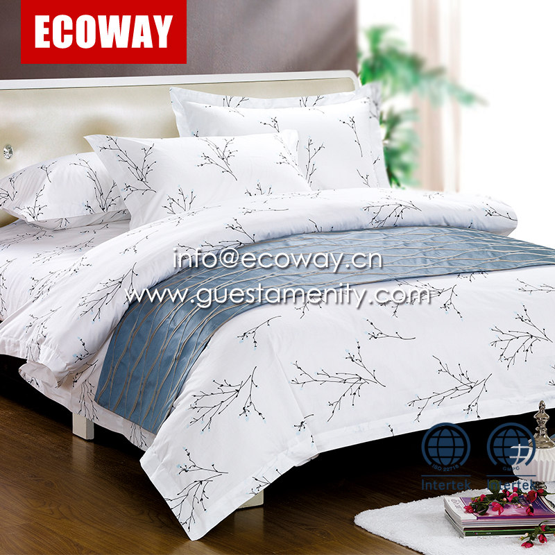 luxury home and hotel Use and Printed Pattern duvet cover bedding set