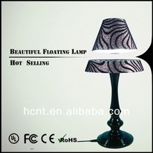 New Invention ! Electromagnetic levitating table light, novelty aqua table lamp