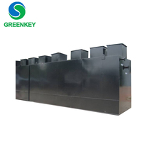 Compact Underground Integrated Sewage Treatment Tank For Industrial Waste Water Treatment