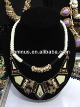 2014 Spring factory sale fashion germanium statement necklace jewelry