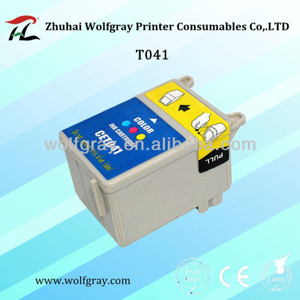 Color compatible ink cartridge for Epson T041