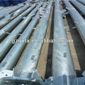 Export the hot dip galvanized power distritution poles