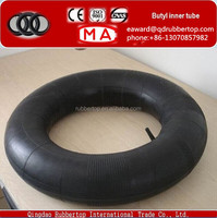 Manufacturer wholesale all sizes car &truck butyl inner tube low price