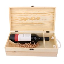 Factory direct supply Custom Make Fancy Wooden gift box packaging for Wine