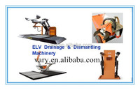 car/bike/truck/airplane dismantling equipment with CE certificate