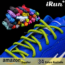 Reflective rope shoelaces - High Visibility Shoestring Rope Shoelaces for Sport Sneakers Skates Boots - Amazon Supplier