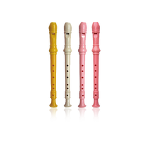 6hole hardcover colorful clarinet(transparent bag without cleaning stick)