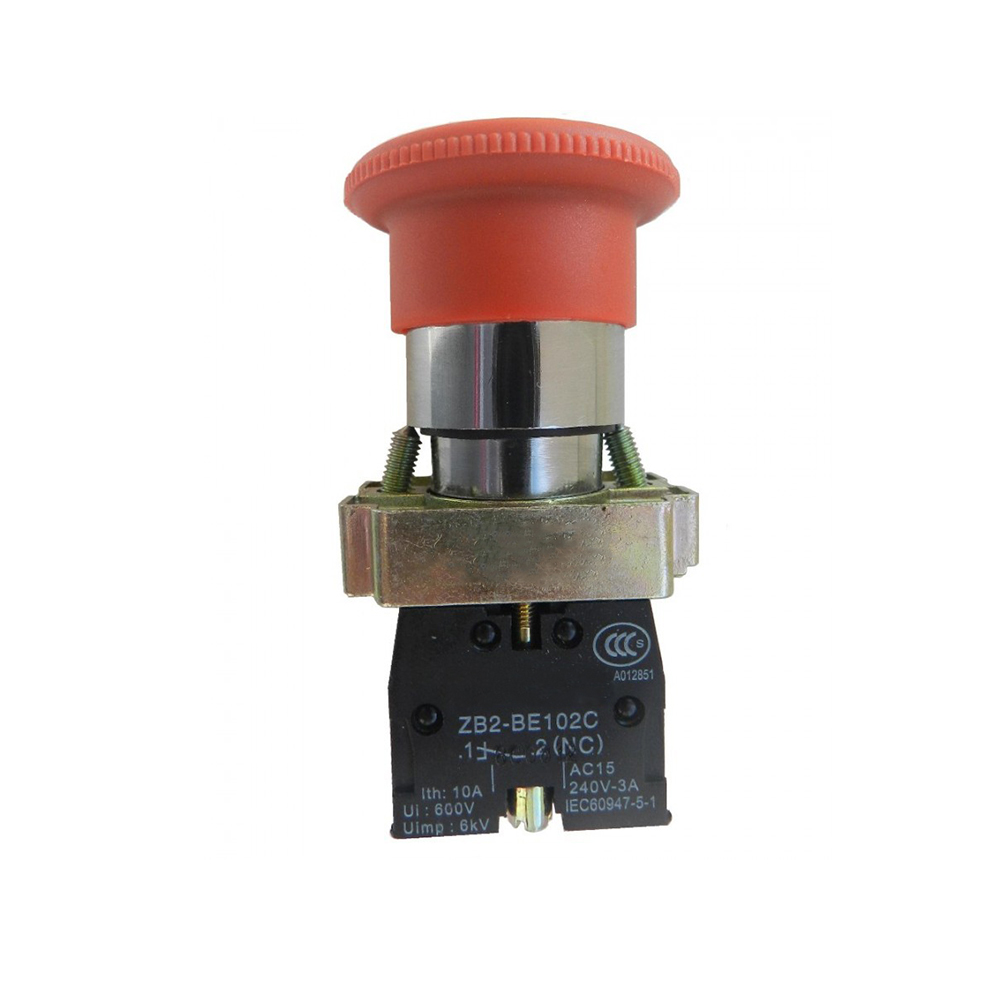 XB2 30MM BS442 BS445 40MM XB2-BS542 BS521 BS531 BS545 60MM BS621 BS631 BS642 turn to release Emergency Stop Push Button Switch