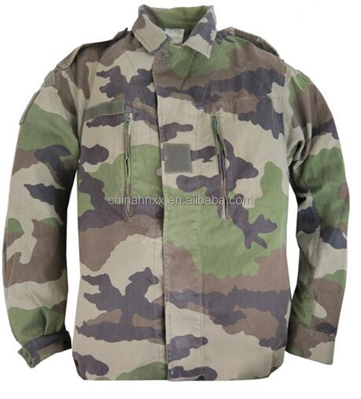 French camouflage jacket