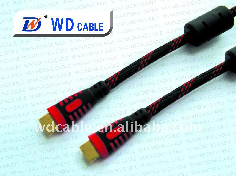 Factory price High speed Copper HDMI Cable With Enthernet tester fluke
