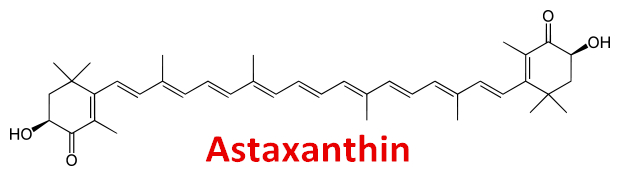100% Natural Healthy Astaxanthin / Haematococcus pluvialis Extract / CAS 472-61-7 from GMP Manufacturer