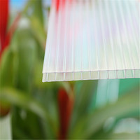 High light transmission polycrbonate greenhouse uv plastic,polycarbonate plastic sheet for greenhouse