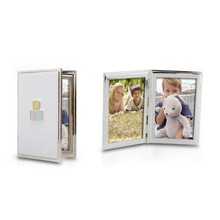 Quality metal Photo Frames Safe Clay Babyprint Casting Kit Newborn Baby First Year Hand Foot Prints Gift