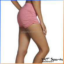 Spandex Nylon Wholesale custom workout apparel Women booty running Shorts