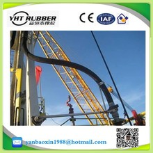 Bottom loading hose for petroleum