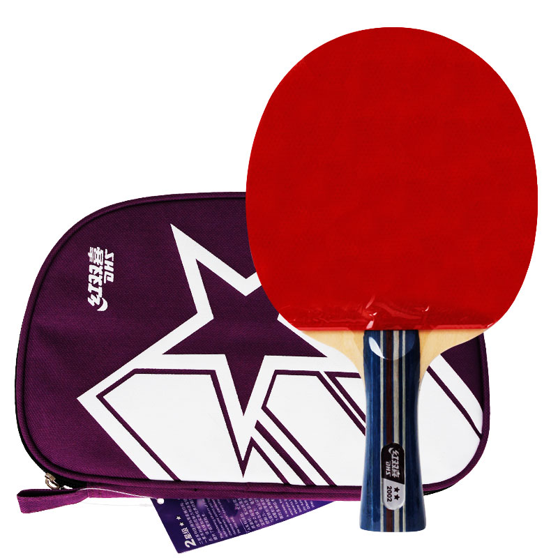 DHS A2002 long handle dhs table tennis bat ping pong racket