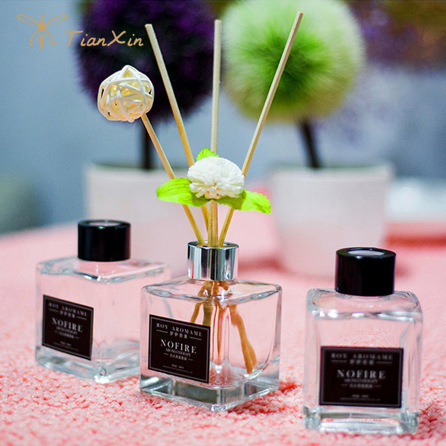 paper flower wood rattan reed diffuser whole set packaged