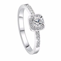 Unique Engagement Rings New Charm Anniversary Appointment Wedding Ring Cubic Zirconia Jewelry Birthday Gift Jewelry for Women