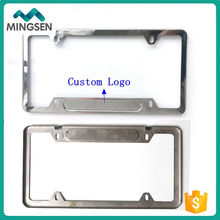custom US license plate frame
