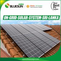 High quality best price bluesun poly 500 watt solar panel for Europe market