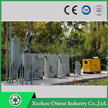 1 year none-stop gasifier biomass power plant