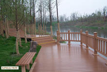Easy Installation Wpc crack-resistant decking