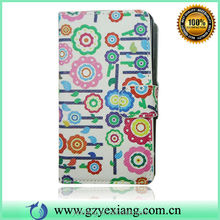 Fancy Leather Flip Case For Samsung I9100 Galaxy S2 Card Holder