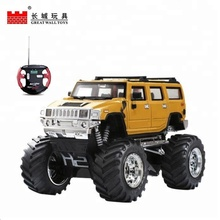 Cool design support OEM remote control bigfoot truck toy cross-country rc car for kids