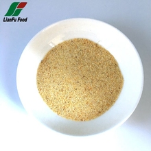 Dehydrated minced garlic granules