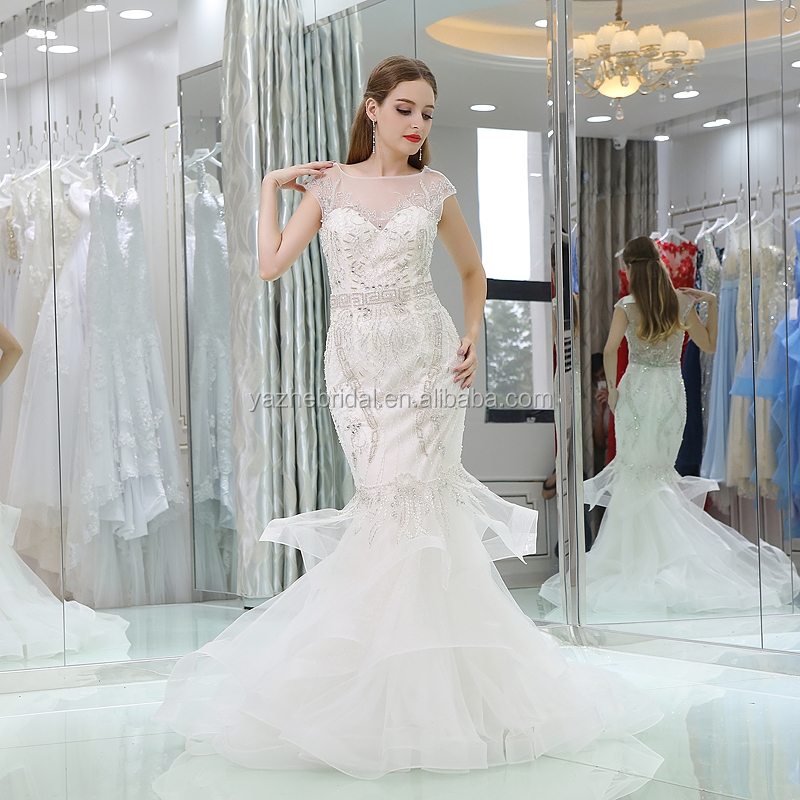 Wholesale prom dresses mermaid style - Online Buy Best prom dresses ...