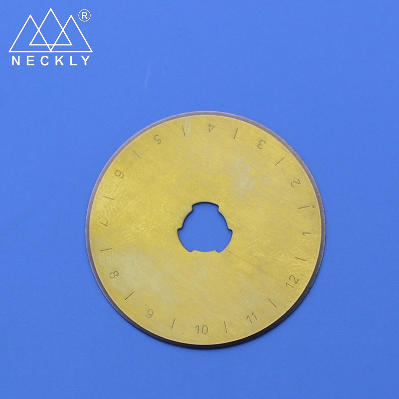 Factory price sharp paper cutting 5CR15 45mm rotary cutter blades stainless