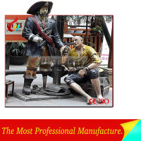 High Simulation Figure Statues Fiberglass Figure Statues for Outdoor
