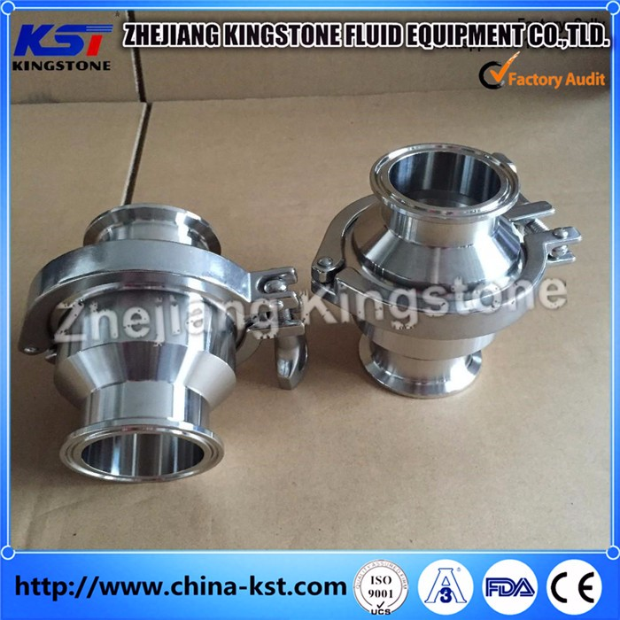 Stainless Steel Sanitary Check Valve weld/threaded end