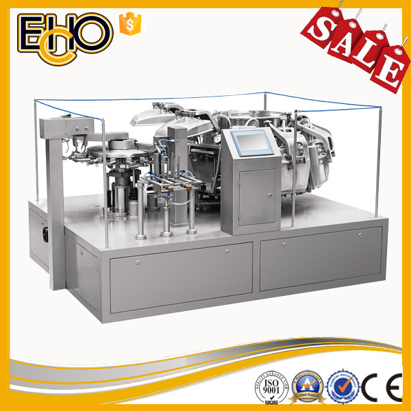 MR8-10ZK Rotary Vacuum Filling Sealing Production Line