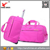 China unisex ripstop travel bag nylon holdall trolley duffel bag supplier