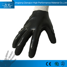 Custom Acid Resistant Nitrile Coated Safeguard Gloves
