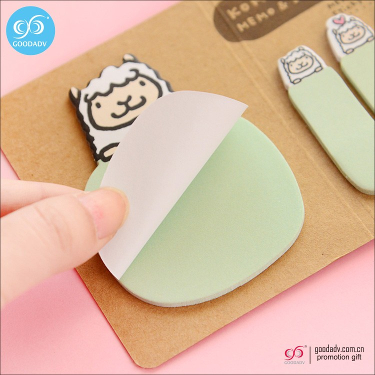 New customized promotional multi colors mini sticky note pad