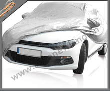 170T polyester taffeta silver coated universal car cover silver coated car cover