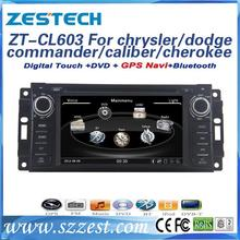 ZESTECH Factory Directly Sale Car Radio with GPS for caliber car dvd for dodge commander car dvd with gps