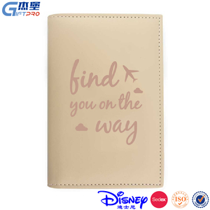 high quality pink passport cover russia custom sightseeing picture printing