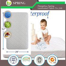 Baby Crib Cotton Quilted Waterproof Mattress Cover / Mattress Protector