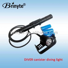 Brinyte magnet underwater scuba light led night diving lantern