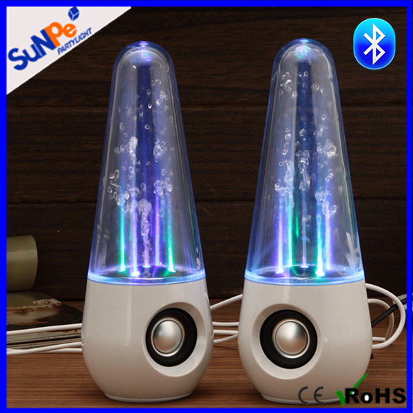 Hot Selling Portable Large Stereo Water Dancing Tower Subwoofer Speakers With Bluetooth And Led Color Light