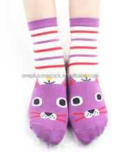 3D cute animal girl tube socks
