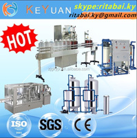 Professional Manufacturer: Automatic glass bottle filling machine Beverage Production Line
