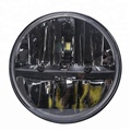 Good quality !!! 7'' round waterproof high brightness head light for jeep wrangler, off-road cars