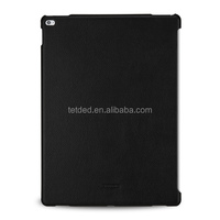 TETDED Premium Leather Case for Apple iPad Pro -- CaenA (LC: Black) for Keyboard Connector