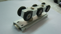 Ceiling Mounted Slide Rollers Hardware For