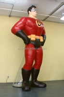 advertising superman cartoon inflatable replica
